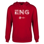 England Euro 2016 Elements Youth Hoody (Red)