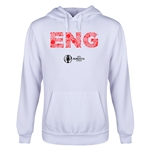 England Euro 2016 Elements Youth Hoody (White)