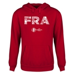 France Euro 2016 Elements Youth Hoody (Red)