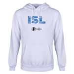 Iceland Euro 2016 Elements Youth Hoody (White)