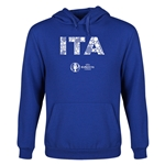 Italy Euro 2016 Elements Youth Hoody (Royal)