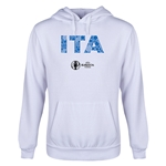 Italy Euro 2016 Elements Youth Hoody (White)