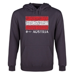 Austria Euro 2016 Fashion Youth Hoody (Dark Grey)