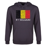 Belgium Euro 2016 Fashion Youth Hoody (Dark Grey)