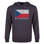 Czech Republic Euro 2016 Fashion Youth Hoody (Dark Grey)