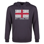 England Euro 2016 Fashion Youth Hoody (Dark Grey)
