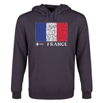 France Euro 2016 Fashion Youth Hoody (Dark Grey)