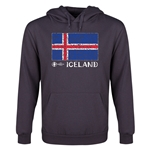 Iceland Euro 2016 Fashion Youth Hoody (Dark Grey)