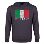 Italy Euro 2016 Fashion Youth Hoody (Dark Grey)