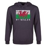 Wales Euro 2016 Fashion Youth Hoody (Dark Grey)