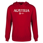Austria Euro 2016 Core Youth Hoody (Red)