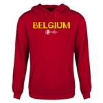 Belgium Euro 2016 Core Youth Hoody (Red)
