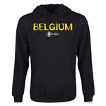 Belgium Euro 2016 Core Youth Hoody (Black)