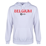 Belgium Euro 2016 Core Youth Hoody (White)