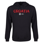 Croatia Euro 2016 Core Youth Hoody (Black)