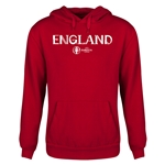 England Euro 2016 Core Youth Hoody (Red)