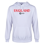 England Euro 2016 Core Youth Hoody (White)