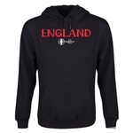 England Euro 2016 Core Youth Hoody (Black)
