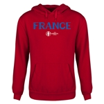 France Euro 2016 Core Youth Hoody (Red)