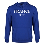 France Euro 2016 Core Youth Hoody (Royal)