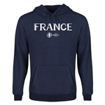 France Euro 2016 Core Youth Hoody (Navy)