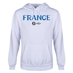 France Euro 2016 Core Youth Hoody (White)