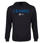 France Euro 2016 Core Youth Hoody (Black)