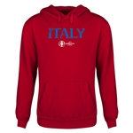 Italy Euro 2016 Core Youth Hoody (Red)