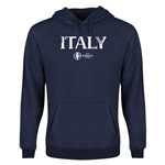 Italy Euro 2016 Core Youth Hoody (Navy)