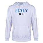 Italy Euro 2016 Core Youth Hoody (White)