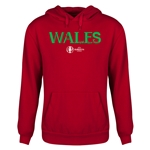 Wales Euro 2016 Core Youth Hoody (Red)