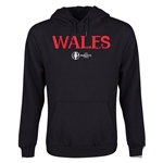 Wales Euro 2016 Core Youth Hoody (Black)