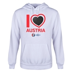 Austria Euro 2016 Heart Youth Hoody (White)