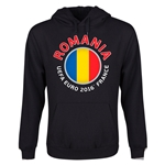 Romania Euro 2016 Fashion Youth Hoody (Black)