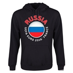 Russia Euro 2016 Fashion Youth Hoody (Black)
