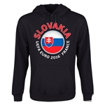 Slovakia Euro 2016 Fashion Youth Hoody (Black)