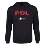 Poland Euro 2016 Elements Youth Hoody (Black)