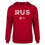 Russia Euro 2016 Elements Youth Hoody (Red)