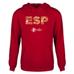 Spain Euro 2016 Elements Youth Hoody (Red)