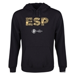 Spain Euro 2016 Elements Youth Hoody (Black)