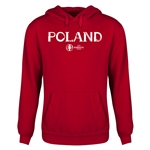 Poland Euro 2016 Core Youth Hoody (Red)