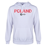 Poland Euro 2016 Core Youth Hoody (White)