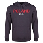 Poland Euro 2016 Core Youth Hoody (Dark Grey)