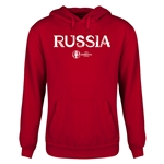 Russia Euro 2016 Core Youth Hoody (Red)