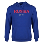 Russia Euro 2016 Core Youth Hoody (Royal)