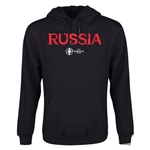 Russia Euro 2016 Core Youth Hoody (Black)