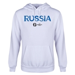 Russia Euro 2016 Core Youth Hoody (White)