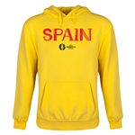 Spain Euro 2016 Core Youth Hoody (Yellow)