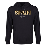 Spain Euro 2016 Core Youth Hoody (Black)