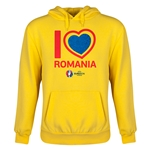 Romania Euro 2016 Heart Youth Hoody (Yellow)